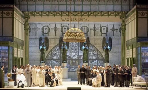 Rīgā izrādīs Alvja Hermaņa iestudētās operas 'Parsifāls' ierakstu