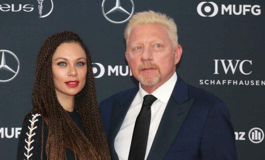 Izjukusi tenisa leģendas Borisa Bekera otrā laulība