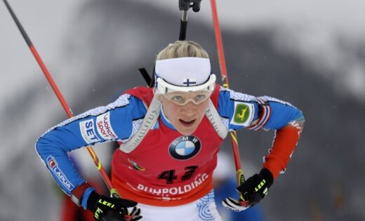 Финка Кайса Мякяряйнен выиграла спринт наэтапеКМ побиатлону вГермании