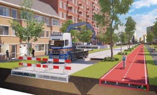 В Нидерландах построят первую дорогу из пластика
