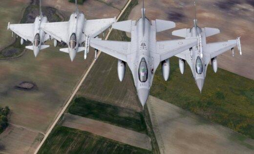 ВЛитве сказали, что истребители НАТО вылетали наперехват русских самолетов