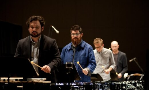 Ventspilī koncertēs perkusiju kvartets 'Sō Percussion' no ASV