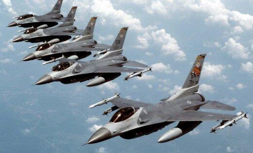 В небе Латвии пройдут самые масштабные до сих пор учения сил НАТО