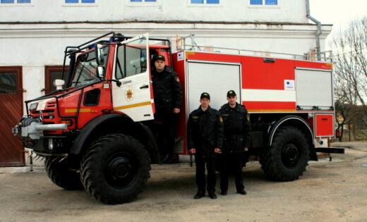 Krāslavas un Dagdas ugunsdzēsēji tikuši pie moderna aprīkojuma