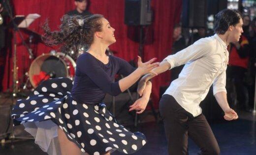 Foto: Džezs un grācija dzelzceļa stacijā – atklāts ikgadējais Baltijas baleta festivāls