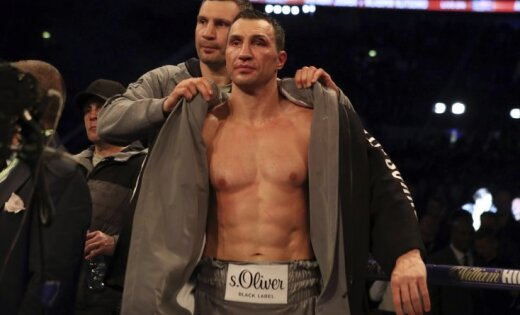 Владимир Кличко реализовал халат за160 000 фунтов