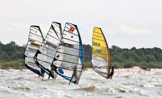 'Formula Windsurfing' Pasaules čempionāts Liepājā pulcēs planētas izcilākos vindsērfinga meistarus