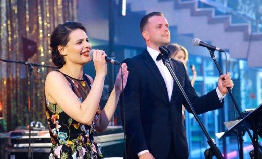 Foto: Ar vērienīgu koncertu Dailes teātris noslēdz sezonu