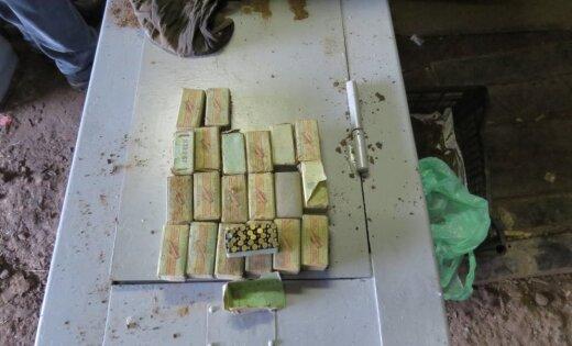 Полиция изъяла подпольный арсенал: задержаны десять подозреваемых