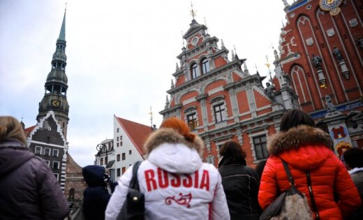 Количество российских туристов в Латвии рухнуло на 70%