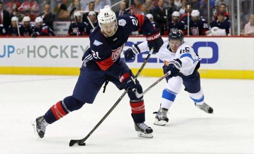 Сборная США одолела Финляндию ввыставочном матче