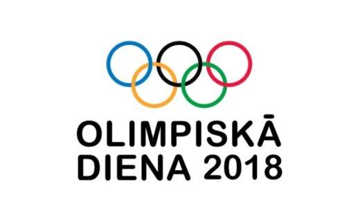 """Attēlu rezultāti vaicājumam """"olimpiskā diena 2018"""""""