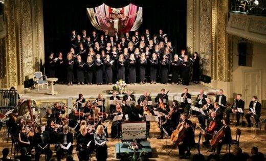 RSU koris 'Rīga' uzvar konkursā 'Venezia in Musica 2012'