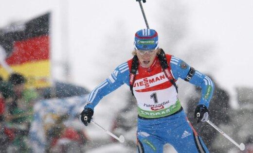 МОК может лишить российскую биатлонистку Зайцеву олимпийской медали