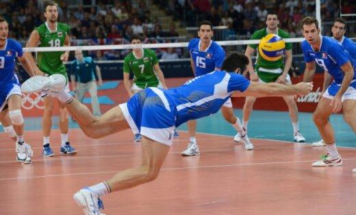 Itālijas volejbolistiem bronza Londonā