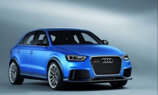 Audi покажет китайцам заряженный кроссовер RS Q3