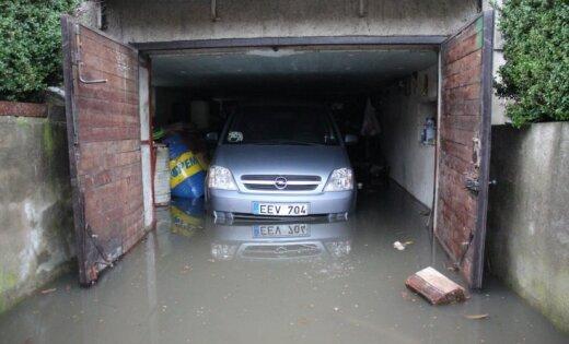 ФОТО, ВИДЕО: Клайпеда пережила самое крупное наводнение за 30 лет