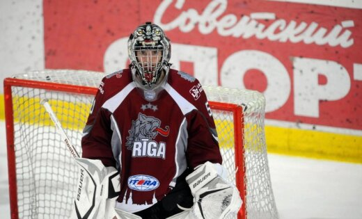 HK 'Rīga' pēdējā šā gada spēlē zaudē 'Krasnaja Armija'