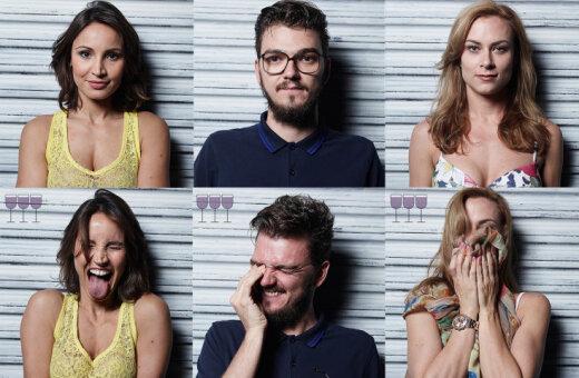 Яркий фотопроект: Как люди выглядят после одного, двух и трех бокалов вина