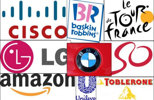 ФОТО: 14 брендов, в логотипах которых содержатся тайные послания для твоего мозга