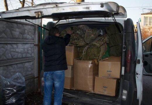 No ziedotājiem Latvijā līdz frontei Ukrainā – latviešu brīvprātīgie apgādā Ukrainas karavīrus