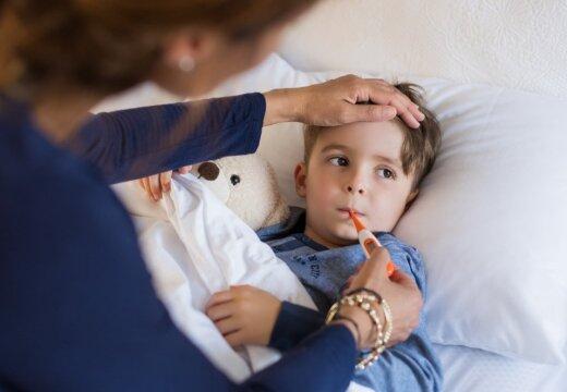 Частые болезни детей сочли хорошим знаком