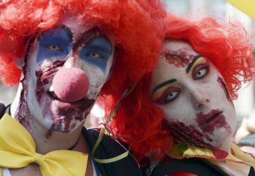 Time: зловещие клоуны терроризируют калифорнийские города
