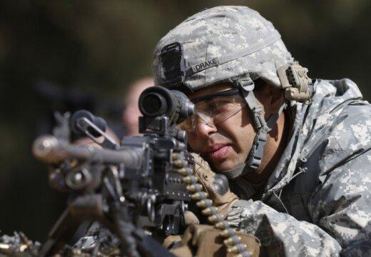 В Латвию прибывают 130 американских солдат