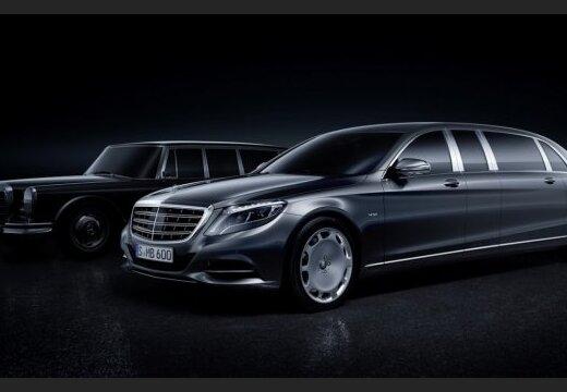 Mercedes-Benz показал первые изображения лимузина Pullman (фото)
