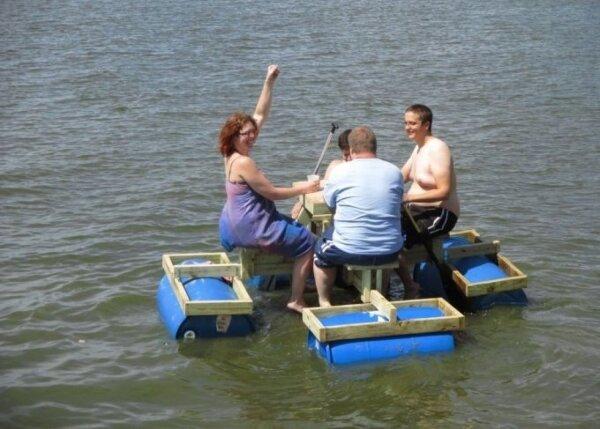 Как сделать для отдыха на воде