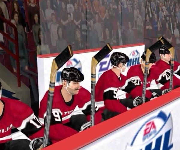 'EA Sports' skaidro mītiskās Latvijas hokeja izlases izveidi