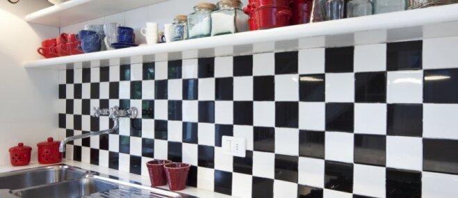Punktiņš uz 'i' virtuvē – flīzes un to dažādība