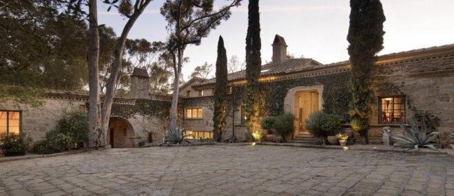 Grezna māja Kalifornijā, kas ieturēta vislabākajās Toskānas noskaņās