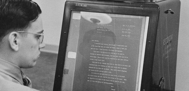 """До e-mail был V-Mail, или Как союзники во время Второй мировой """"взломали"""" полевую почту"""