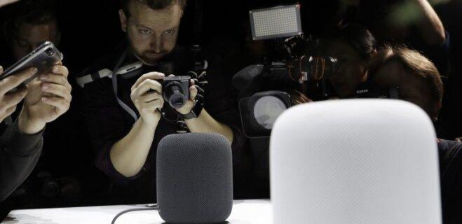 "Apple анонсировала ""умную"" домашнюю колонку HomePod"