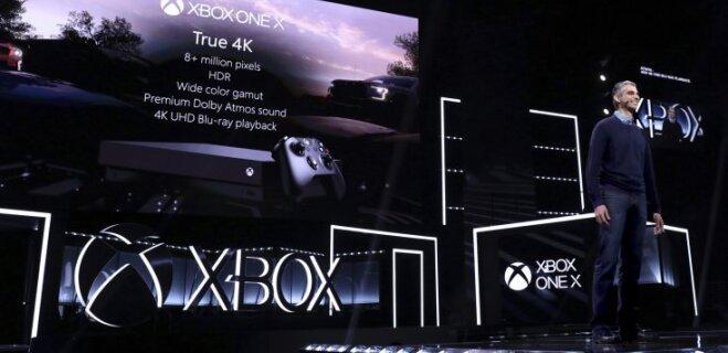Microsoft представила новую игровую приставку — Xbox One X