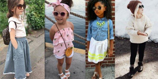 Modes nodošana nākamajai paaudzei – kā vecāki šiki ietērpj savus bērnus