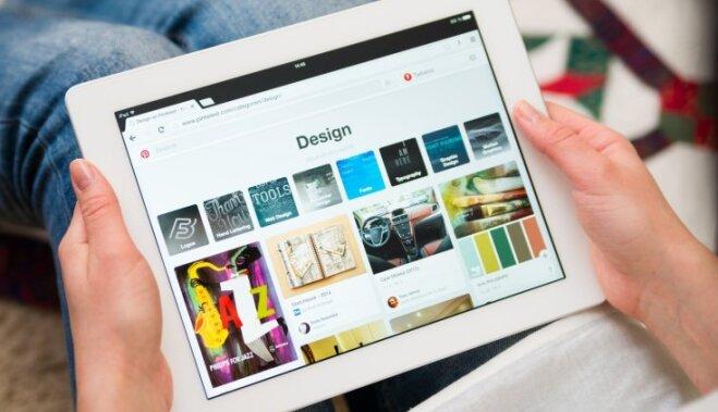 'Pinterest' prezentē tiešsaistes iepirkšanās iespējas