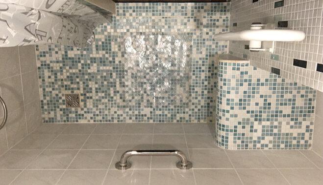 Ремонт ванной комнаты для человека с особыми потребностями