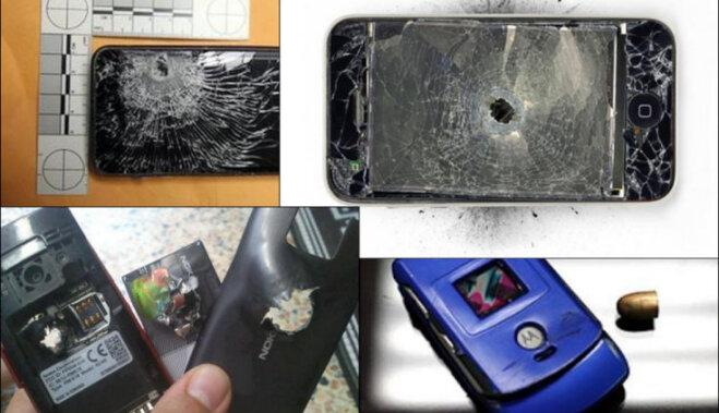 И бронежилет не нужен: 7 телефонов, которые остановили пули (буквально)