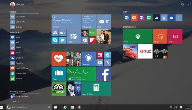 'Microsoft' nosaucis 'Windows 10' operētājsistēmas cenas