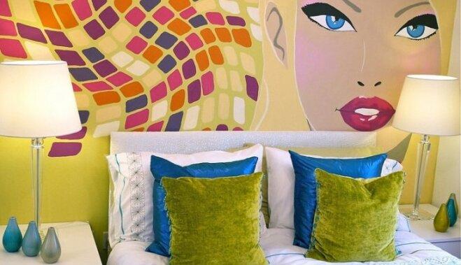 Как сделать рисунок на стене - DELFI: www.delfi.lv/zhurnal/dom/46662627_kak-sdelat-risunok-na-stene