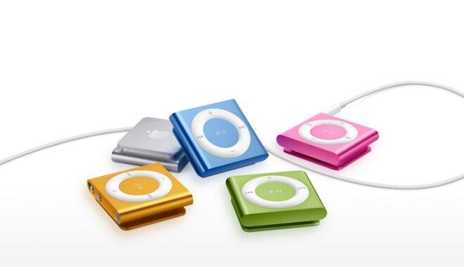 Ушла эпоха. Apple прекратила производство плееров iPod nano и iPod shuffle
