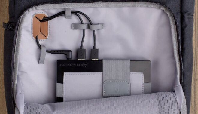 Hewlett-Packard показала рюкзак-аккумулятор для зарядки гаджетов