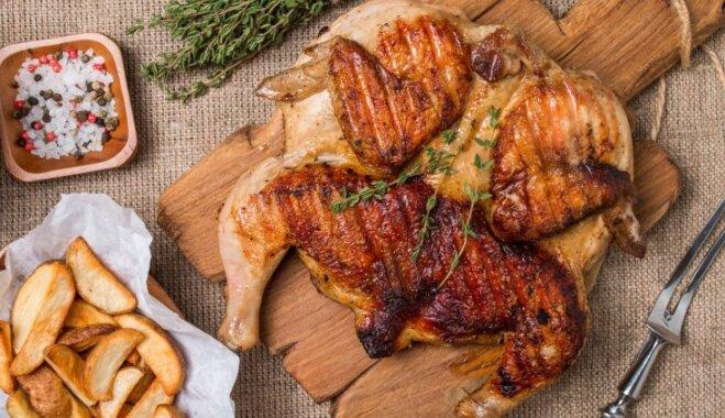 Пошаговая инструкция: готовим на гриле сочную курицу горячего копчения