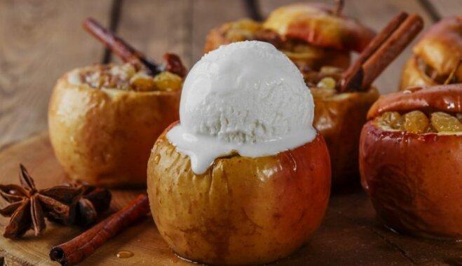 Saldais rudens prieks – krāsnī cepti āboli. Receptes no vecmāmiņas pūralādes