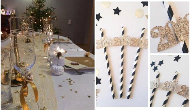 Gatavojamies Jaunajam gadam: paštaisīti dekori krāšņas svētku sajūtas radīšanai