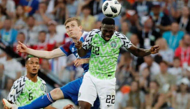 ЧМ-2018: Нигерия победила Исландию, Мусса забил два мяча и вошел в историю