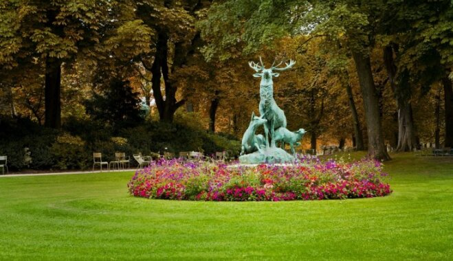 Luksemburgas dārzi – viena no skaistākajām atpūtas vietām Parīzē