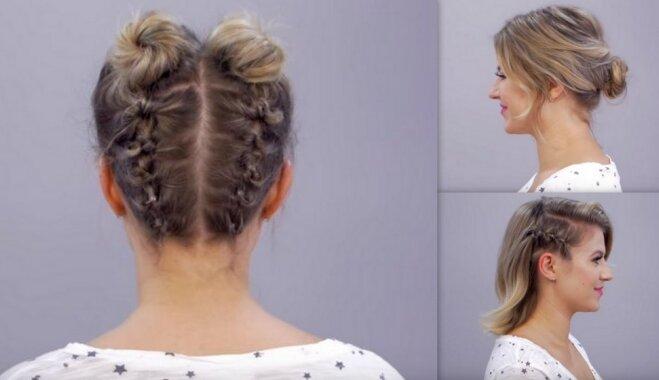 Bez pinumiem un sarežģītiem trikiem. 10 interesantas frizūras, ko izmēģināt vērts ikvienai